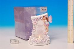LILAC FAIRY STORY CANDLEHOLDER