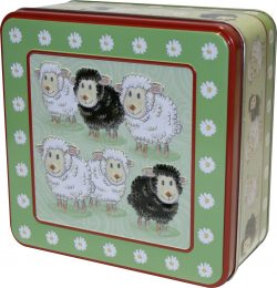 Sheep Tin Square 6 X 300g