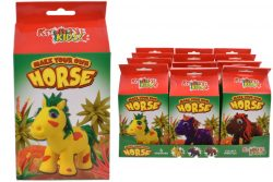 SUPER DOUGH HORSE PLAYSET (3 ASSORTED)  COLOUR BOX/DBX