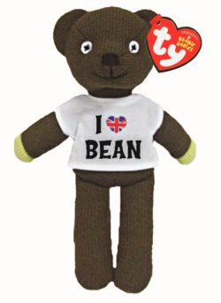 TY BEANIE MR BEAN TEDDY IN T-SHIRT