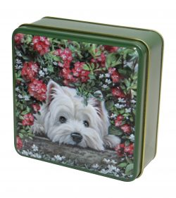 WESTIE TIN SHORTBREAD 100g