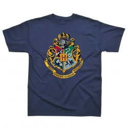 HARRY POTTER T-SHIRT HOGWARTS CREST LARGE