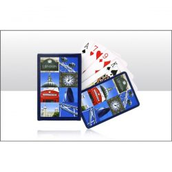 London Montage Photo Playing Cards