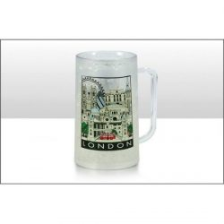 DISC LONDON CITYSCAPE FROSTED GEL BEAKER