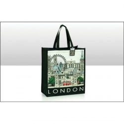 LONDON CITYSCAPE NON WOVEN BAG