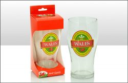 TBD WALES PINT GLASS