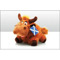 Highland Coo Soft Toy