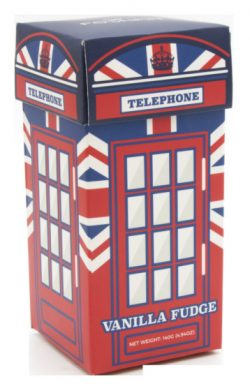 Telephone Box Carton. Vanilla Fudge