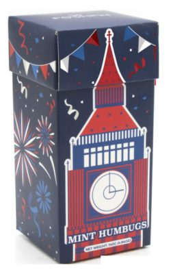Big Ben Carton. Mint Humbugs