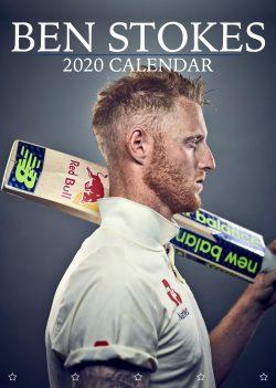 Ben Stokes England's Hero A3 2020 Calendar