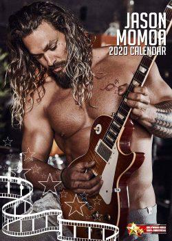 Jason Momoa   (Aquaman) A3 Calendar 2020