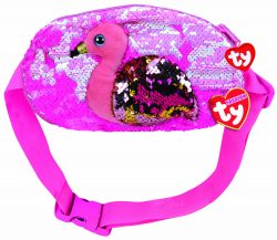 GILDA FLAMINGO BELT BAG – SEQUINED