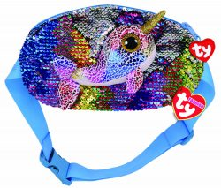 CALYPSO NARWHAL BELT BAG – SEQUINED