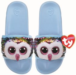 OWEN OWL – POOL SLIDES SEQUIN – LRG