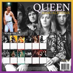 Queen 12″ 2020 Calendar