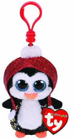 TY FLIPPABLE BOO KEY CLIP – GALE PENGUIN