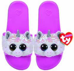 DIAMOND – POOL SLIDES SEQUIN – SMALL