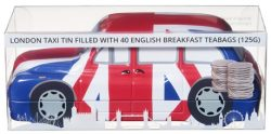 TBD Gold Taxi Tin 40 English Breakfast Teabags