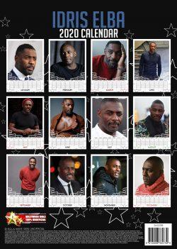 Idris Elba  A3 Calendar 2020
