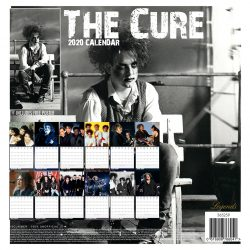 The Cure 12″ 2020 Calendar