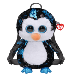 WADDLES PENGUIN BACK PACK – SEQUINED