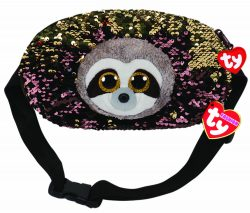 DANGLER SLOTH BELT BAG – SEQUINED