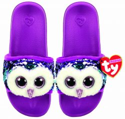 MOONLIGHT – POOL SLIDES SEQUIN – SMALL