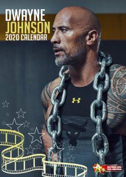 "Dwayne ""The Rock"" Johnson A3 Calendar 2020"