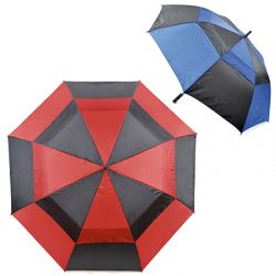 2 ASSORTED GOLF UMBRELLAS