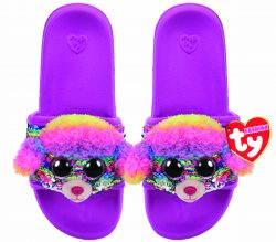 RAINBOW – POOL SLIDES SEQUIN – LRG