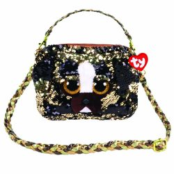 BRUTUS DOG SQUARE SHOULDER BAG – SEQUINED