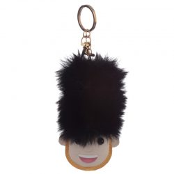 LONDON GUARDSMAN POM POM KEY RING