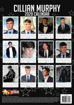 Cillian Murphy   (Peaky Blinders) A3 Calendar 2020