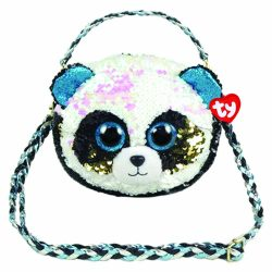 BAMBOO PANDA SQUARE SHOULDER BAG – SEQUINED