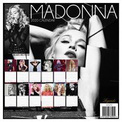 Madonna  12″ 2020 Calendar