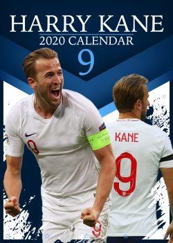Harry Kane A3 2020 Calendar