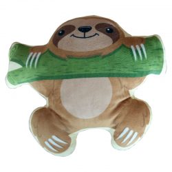 Sloth with Branch Plush Cushion