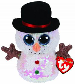 TY FLIPPABLE BEANIE – MELTY SNOWMAN