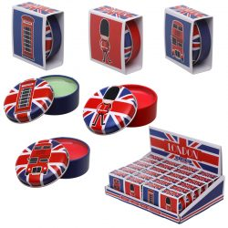 LONDON SOUVENIR LIP BALM IN TIN
