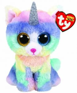 TY BEANIE BOO – HEATHER CAT WITH HORN