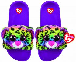 DOTTY LEOPARD – POOL SLIDES – MEDIUM