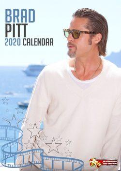 Brad Pitt  A3 Calendar 2020