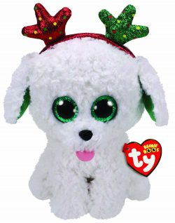 TY BOO BUDDY – SUGAR THE XMAS DOG