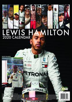 Lewis Hamilton A3 2020 Calendar