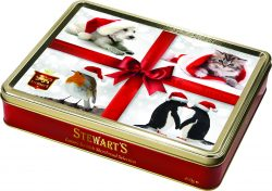 Santa's Animal Friends 400g Shortbread Tin