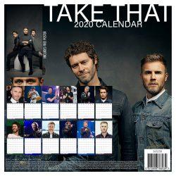 Take That  12″ 2020 Calendar