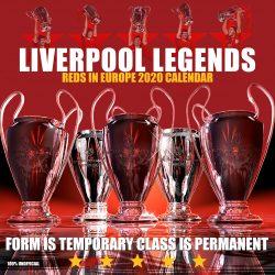 Liverpool Legends 12″ 2020 Calendar