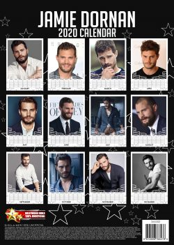 Jamie Dornan A3 Calendar 2020