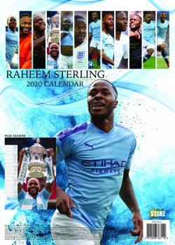 Raheem Sterling A3 2020 Calendar