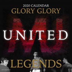 Manchester United Legends 12″ 2020 Calendar